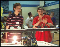 Image of students at BotBall