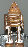 Gingerbread Robot