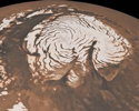 Martian Ice Cap