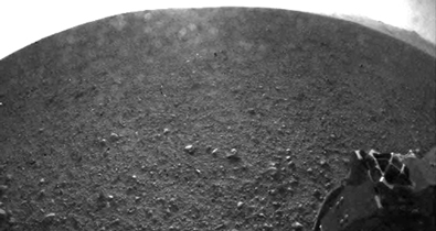 Curiosity's First High Resolution Image