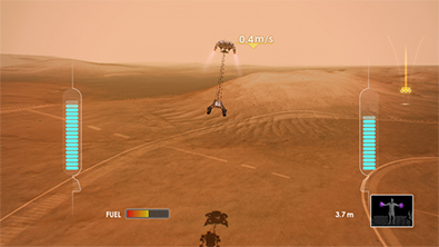 Curiosity Rover Game