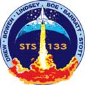STS-133 Patch