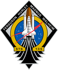 STS-135 Patch